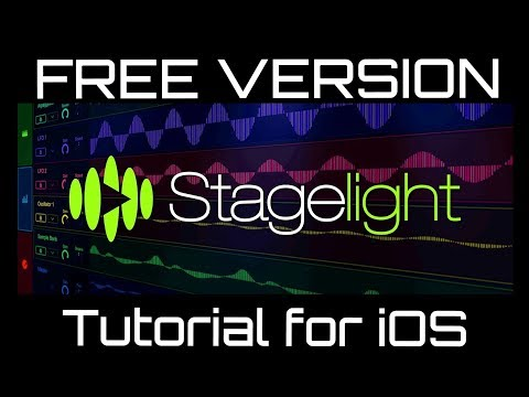 Stagelight 4 for iOS - FREE Version Tutorial - Setting Up and Getting Started