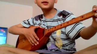 Как научиться играть песню еркем ай на домбре