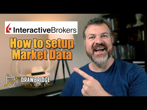 How to setup Interactive Brokers Market Data - Stock and Option Realtime Data