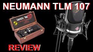 NEUMANN TLM 107 Kondensator Mikrofon Review & Vergleichstest *German*