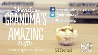 Community Cooks ~ Wendy Sykes' Trifle Recipe