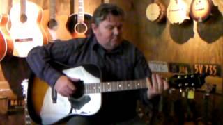 Epiphone PR150 VS Acoustic Guitar Demo