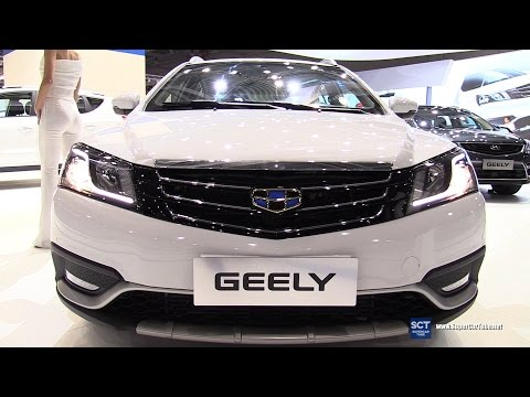 2017 Geely Emgrand EC7 - Exterior and Interior Walkaround - 2016 Moscow Automobile Salon