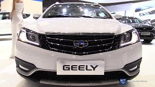 2017 Geely Emgrand EC7 - Exterior and Interior Walkaround - 2016 Moscow Automobile Salon