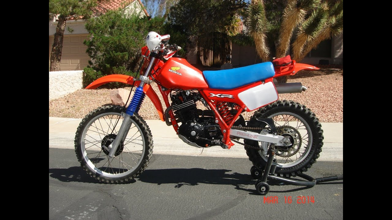 dan 39 s 1982 honda xr500 for sale in las vegas sold youtube