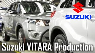 suzuki VITARA Production (Esztergom, Hungary) Suzuki Car Factory, Suzuki Assembly Line