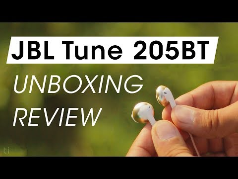JBL Tune 205BT Earphones Unboxing and Review | Wireless Earbuds Under 2000 Rs