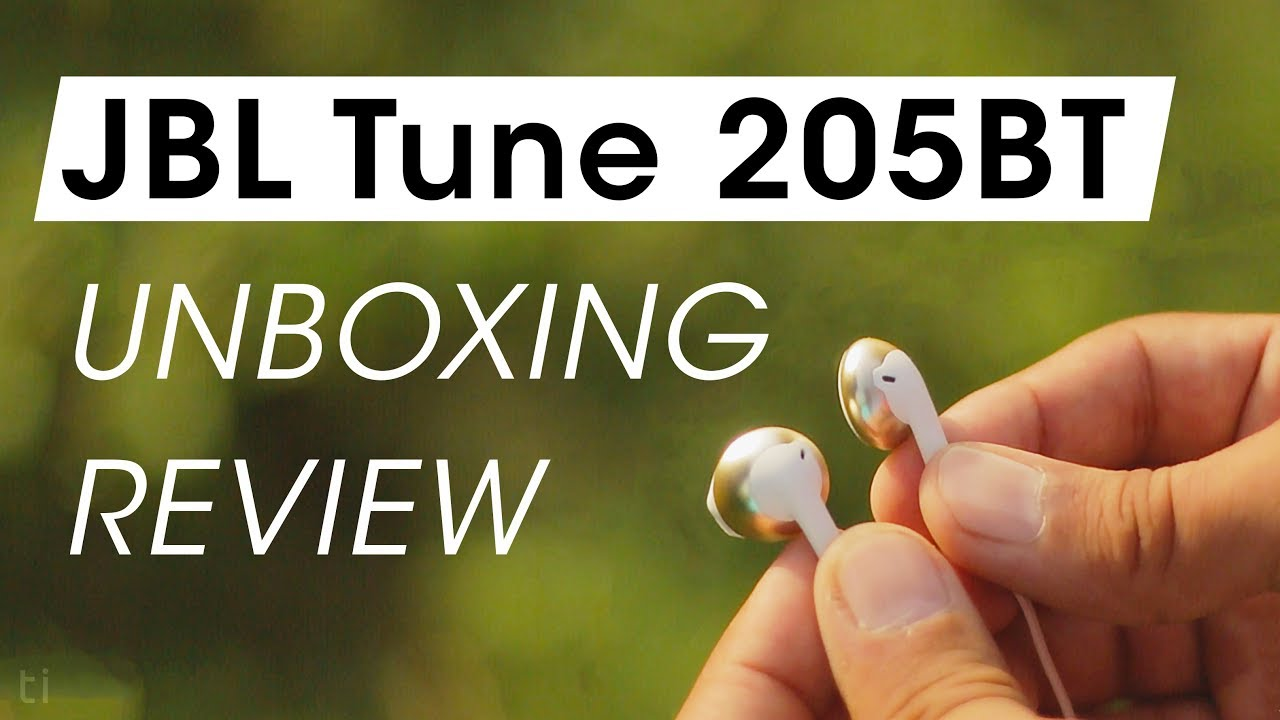 7bff16993c3 JBL Tune 205BT Earphones Unboxing and Review | Wireless Earbuds ...