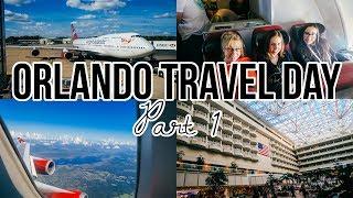 Travelling to Orlando Florida Vlog with Virgin Atlantic London Gatwick PART 1