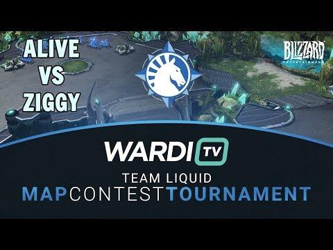 aLive vs Ziggy (TvT) - TL Map Contest Tournament 4 Groups