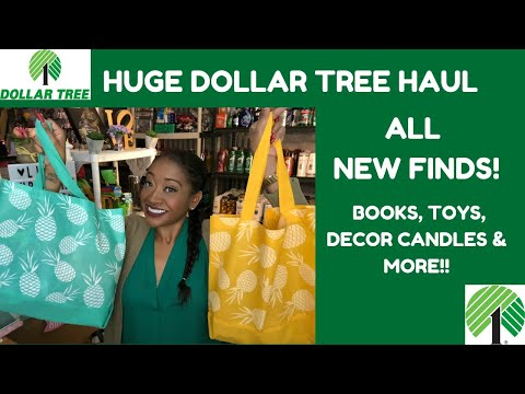 HUGE DOLLAR TREE HAUL~What's NEW At Dollar Tree 🌳?!? Awesome Finds Tons Of NEW Items MUST SEE