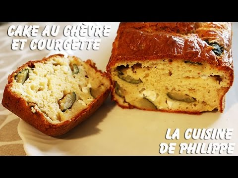 cake-au-chèvre-et-courgette