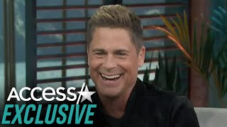 Rob Lowe Jokes About Getting Acting Notes From His Son: 'He Calls Me Rob'