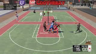 I Dropped 20 On His Head?!?! 91 Overall Sharpshooting Shot Creator 2v2 Gameplay FINALLY!! NBA 2k19