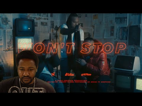 🔥🔥🔥 | B WISE & ONEFOUR – WONT STOP (OFFICIAL MUSIC VIDEO) | AMERICAN REACTION!!!
