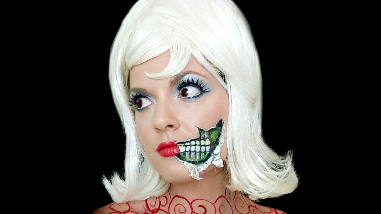 MARS ATTACKS Martian Lady Makeup!!