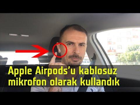 AirPods ile video kaydı devri | AMD VEGA