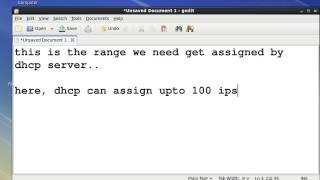 Installing and Configuring DHCP Server On Red Hat Enterprise Linux 6.avi
