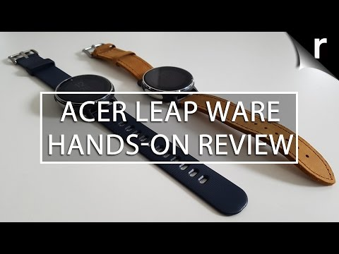 Acer Leap Ware hands-on review: Run around