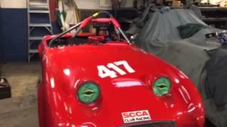 1960 Austin Healey Bug Eye race car. Autopartsnutz.com