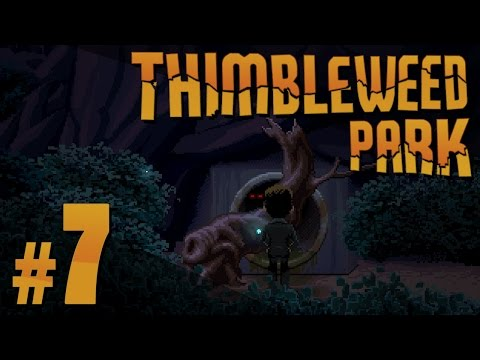 Thimbleweed Park - Sewer Switch - PART #7