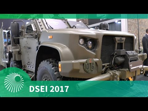 DSEI 2017: Joint Light Tactical Vehicle - Oshkosh