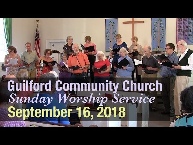 Guilford Church Service - 9/16/18