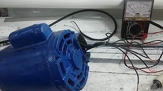 Como ligar Motor monofásico sem numeração dos cabos thumbnail
