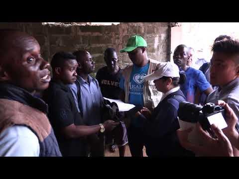 Tzu-Chi-Foundation visit Regent (Mudslide) in Freetown Sierra Leone