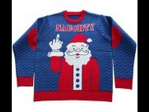 Naughty Christmas Sweaters and Inappropriate Christmas Sweaters ...