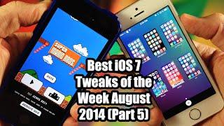 Best iOS 7 Jailbreak Tweaks of the Week - August 2014 (Part 5)