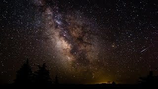Milky Way Time Lapse - July 26, 2014