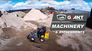 GIANT Machinery and attachments for every job!