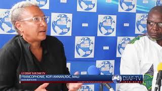 La Francophonie et le bilan de Michaelle Jean en débat sur Diaf-Tv