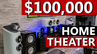 $100,000 7.2.6 Dolby Atmos / 13.2 Auro-3D IMAXe DTS:XHome Theater - B&W, REL, Arcam, Denon, Oppo