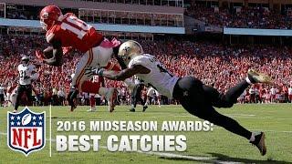Top 10 Catches | 2016 Midseason Awards | NFL