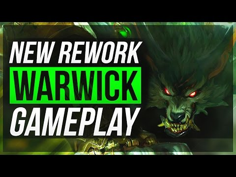 WARWICK REWORK IS not BROKEN?! - Warwick Jungle Gameplay | League of Legends