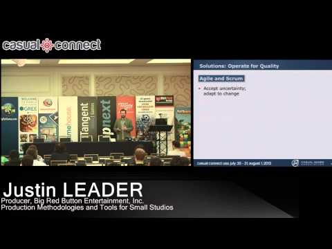 Production Methodologies and Tools for Small Studios | Justin LEADER