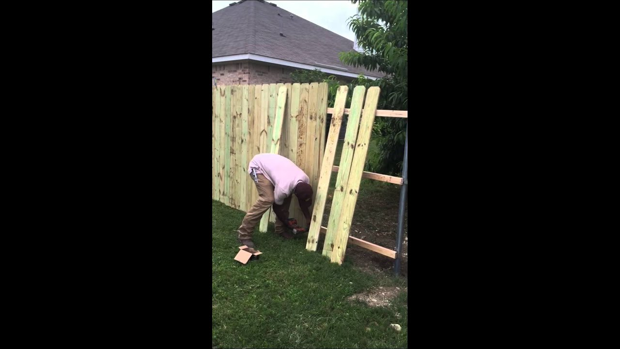 Building a wooden fence with screws youtube - Exterior wood screws for fencing ...