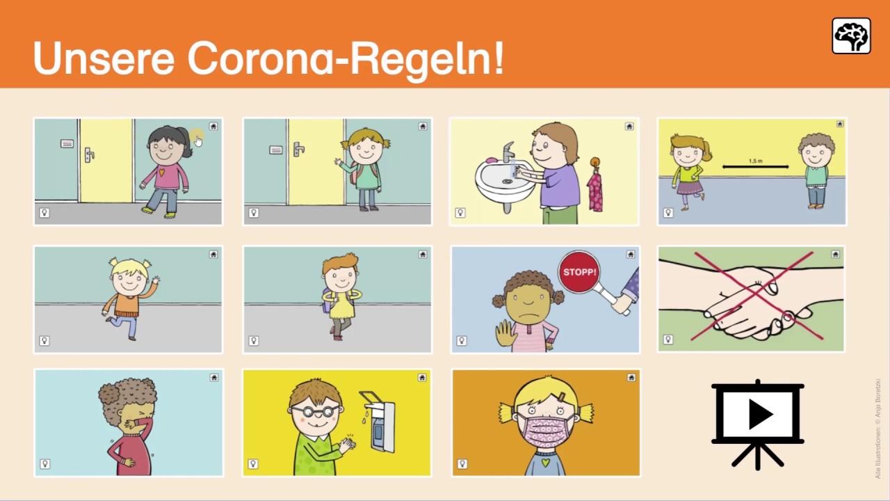 Corona Material Fur Die Grundschule