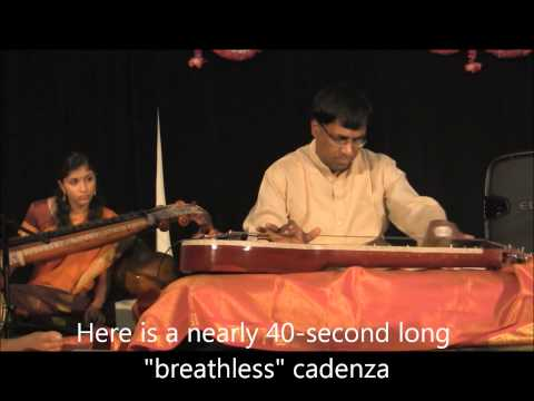 "Amazing ""Breathless"" Slide Chitravina N Ravikiran"