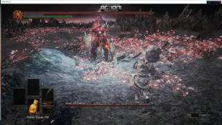 Dark souls 3 gameplay Soul of cinder boss fight NG+5 PC ULTRA