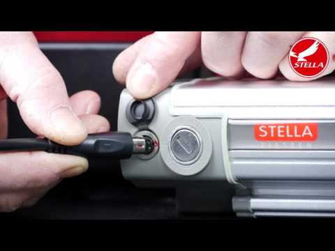 Opladen 5 polige accu elektrische fiets - Stella Fietsen