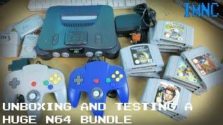Unboxing & Testing a Huge N64 Bundle | IMNC