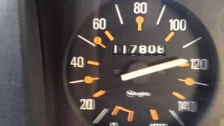 Renault 4L TL, 0-100KMh et vitesse max