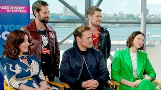 Outlander Cast at New York Comic Con 2019 | Full Interview
