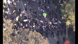 Watch Live: Black Lives Matter protesters rally in DTLA