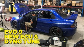 Return of the Evo 9 (to the Dyno)