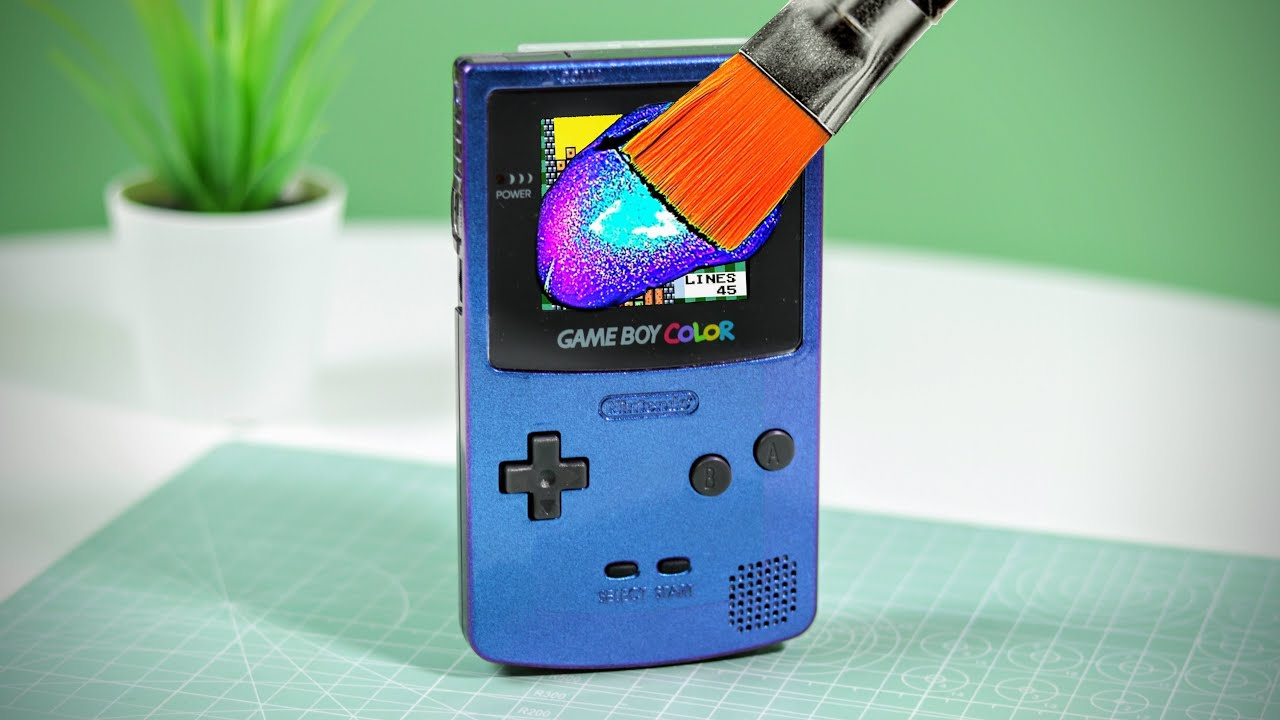 Customise your GameBoy in 1999