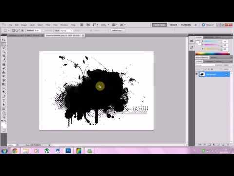 photoshop tutorial; achtergrond transparant maken - youtube